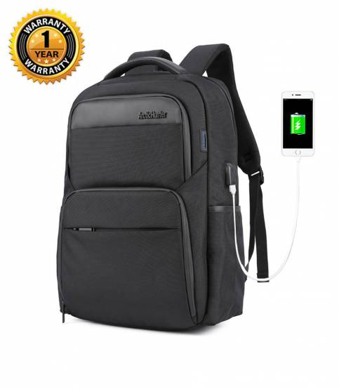 ARCTIC HUNTER Waterproof Travel Black Backpack