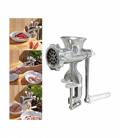 Hi-Quality Aluminum Alloy Manual Meat Grinder