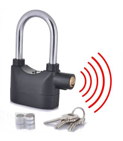 Security Alarm Lock Medium Size