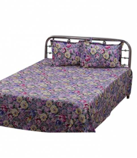 Home Tex Bedsheet Multicolor