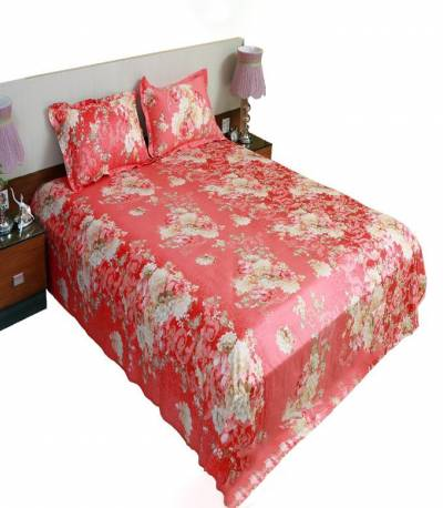 Home Tex Cotton purple Bedsheet in Bangladesh