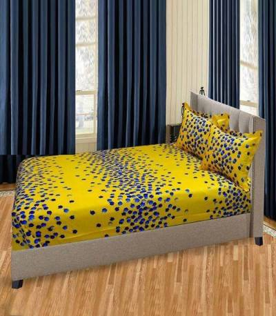 Home Tex Yellow Apple Bedsheet