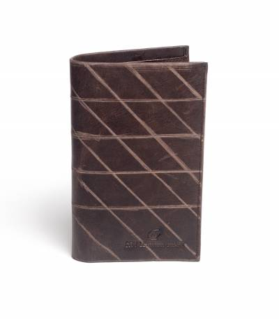 City Leather Dark Chocolate Wallet