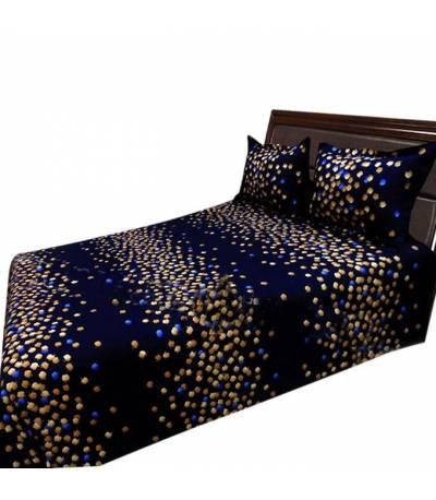Home Tex Blue Apple Bedsheet