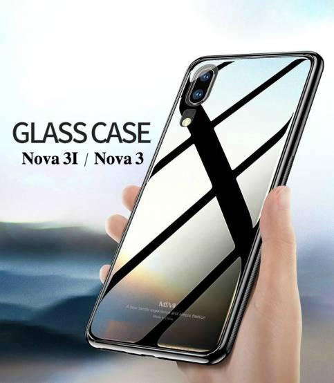 sale retailer f415d fb757 Huawei Nova 3i Glass Case