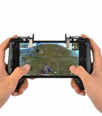 Portable Gaming Grip & Trigger