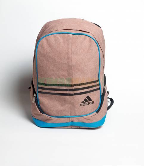 Adidas Round Black & White Stripes Backpack
