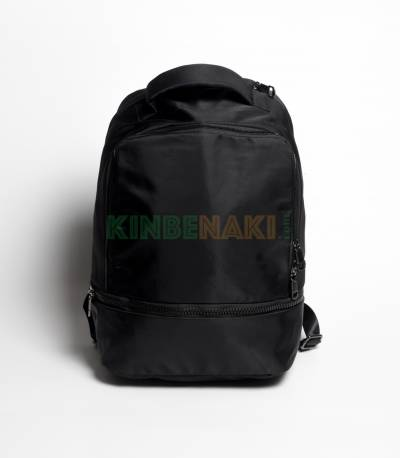 Adidas Round Green & Black Stripes Backpack