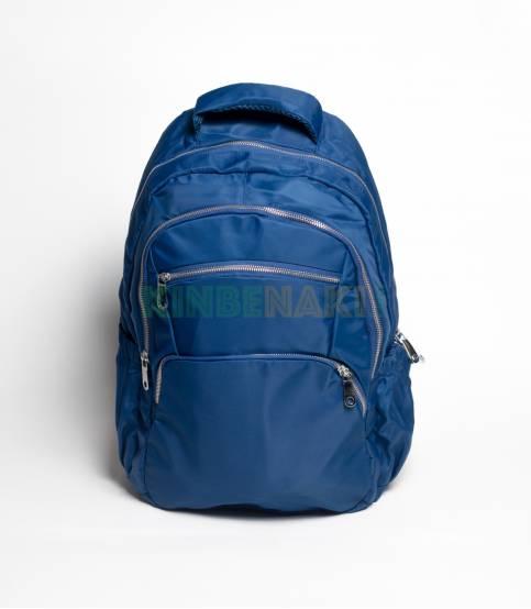 Multi Chain Pocket Black Color Backpack