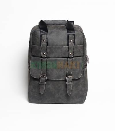 Langjie Black Backpack