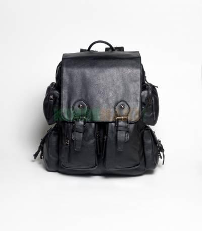 Langjie Brown Extra Carrier Backpack