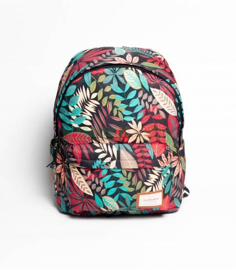 Glory Orange Flower Backpack For Girls