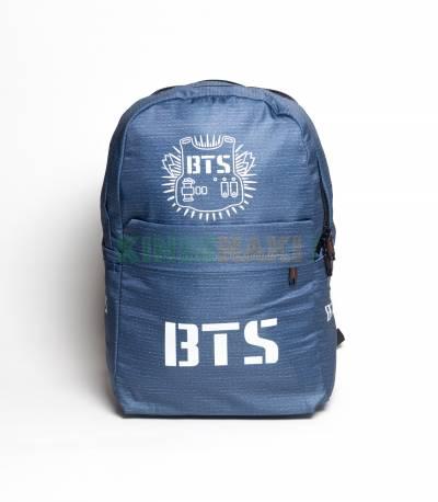 BTS Silver Ash Color Backpack