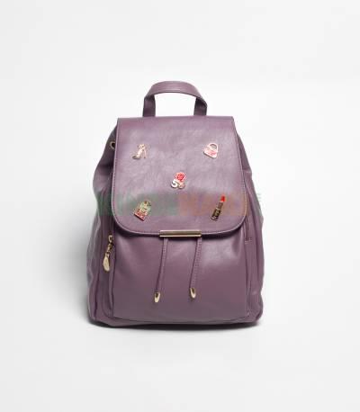 Lovely Girl Purple Mini Backpack