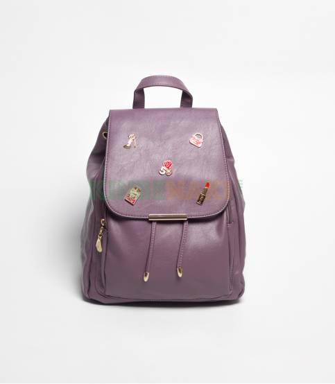 Lovely Girl Mediumslet Blue Mini Backpack