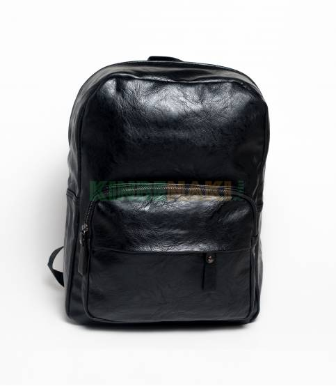 Ape Forest Fish Chain Black Color Backpack